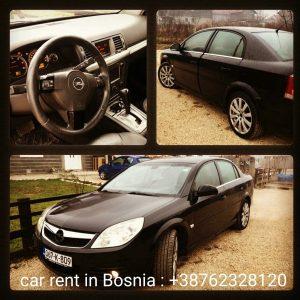 Car rent in bosnia
